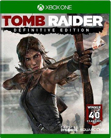Jogo Tomb Raider Definitive Edition - Xbox One Física Usado