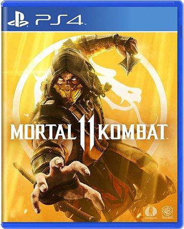 Jogo Mortal Kombat 11 - Ps4  Mídia Física Usado