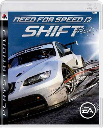 Jogo Need For Speed Shift - Ps3 Mídia Física Usado