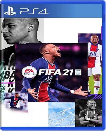 Jogo Fifa 21 - PS4 Mídia Física Usado
