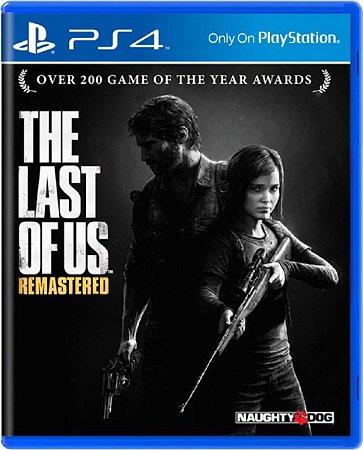 Jogo The Last of Us Remastered EUR - Ps4 Mídia Física Usado
