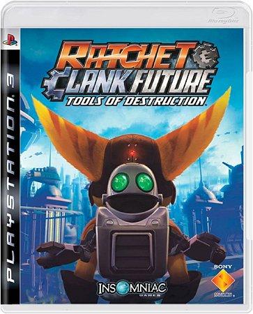 Jogo Ratchet & Clank Future - Ps3 Mídia Física Usado
