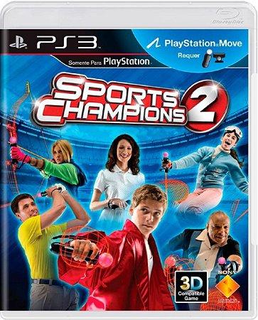 Jogo Sports Champions 2 - Ps3 Mídia Física Usado