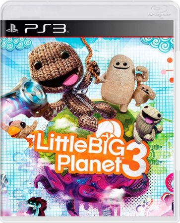 Jogo Little Big Planet 3 - Ps3 Mídia Física Usado