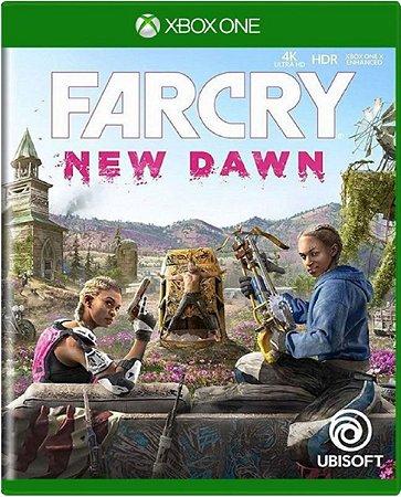 Jogo Farcry New Dawn - Xbox One Mídia Física Usado