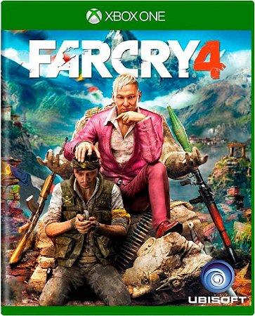 Jogo Farcry 4 - Xbox One Mídia Física Usado