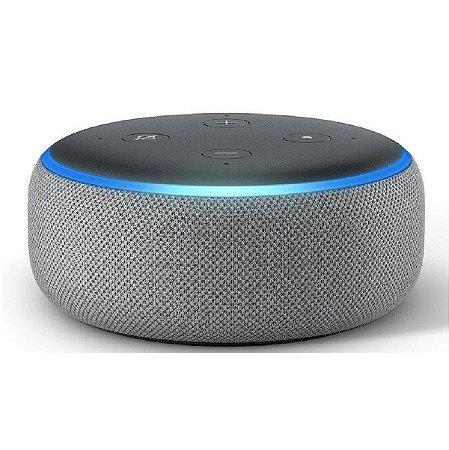 Caixa De Som Echo Dot Amazon Alexa 3ª Geração Preta
