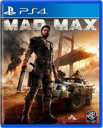 Jogo Mad Max - Ps4 Mídia Física Usado