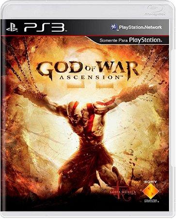 Jogo God of War Ascension - Ps3 Mídia Física Usado