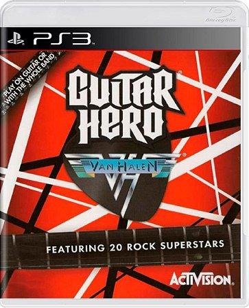 Jogo Guitar Hero Van Halen - PS3 Usado