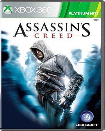 Jogo Assassin's Creed Platinum Hits - Xbox 360 Mídia Física Usado
