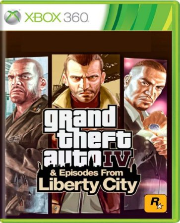 Jogo GTA IV & Episodes From Liberty - Xbox 360 Física Usado