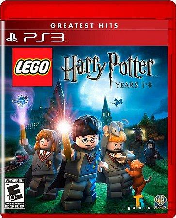Jogo Lego Harry Potter Years 1-4 G.Hits - Ps3 Física Usado
