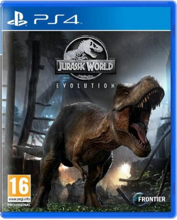 Jogo Jurassic World Evolution - Ps4 Mídia Física Usado