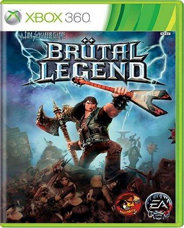 Jogo Brutal Legend - Xbox 360 Mídia Física Usado