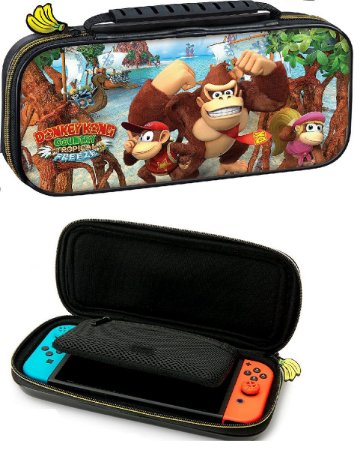 Case Nintendo Switch Game Traveler Deluxe  Donkey Kong Usado