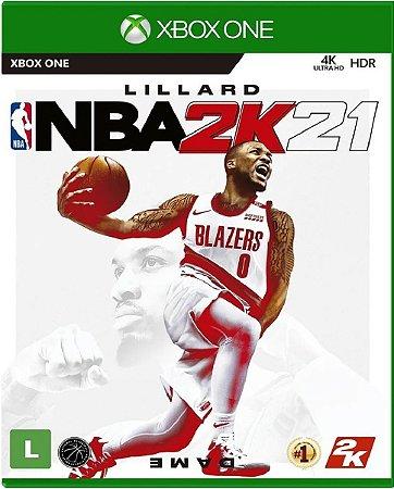 Jogo NBA 2K21 - Xbox One Mídia Física