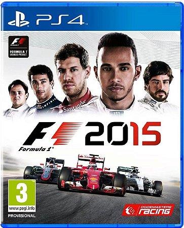 Jogo Formula 1 2015 - PS4 Mídia Física Usado