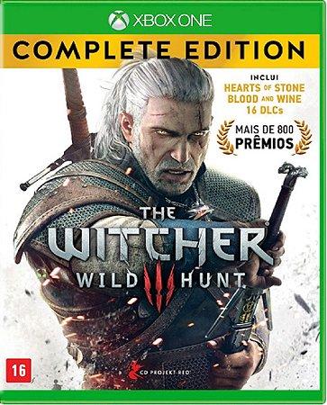 Jogo The Witcher III Hunt Edição Completa - Xbox One Mídia Usado