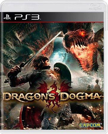 Jogo Dragons Dogma - Ps3 Mídia Física Usado