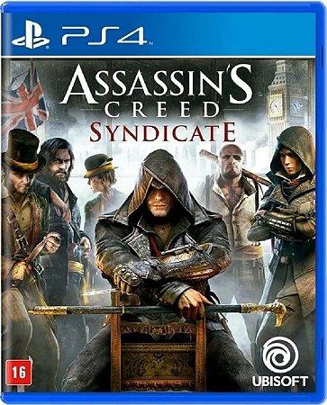 Jogo Assassin's Creed Syndicate - Ps4 Mídia Física Usado