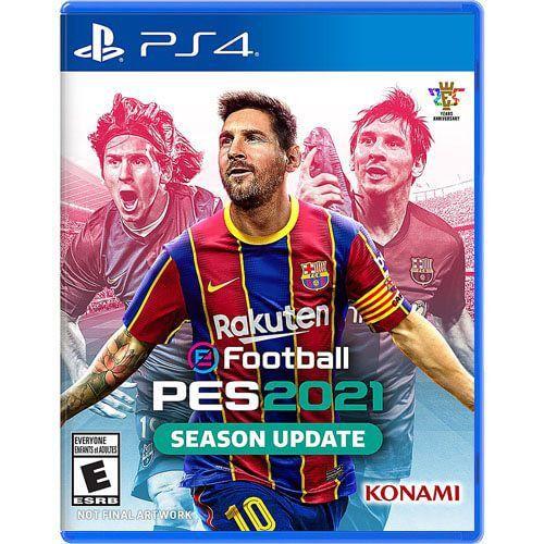 Jogo Pro Evolution Soccer 2021 - PS4 Mídia Física Usado