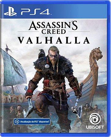 Jogo Assassin's Creed Valhalla - Ps4 Mídia Física