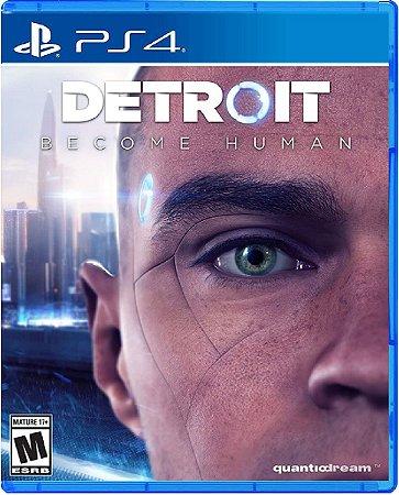 Jogo Detroit : Become Human - Ps4 Mídia Física