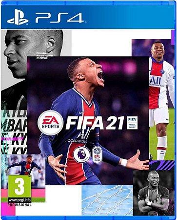 Jogo Fifa 21 - PS4 Mídia Física