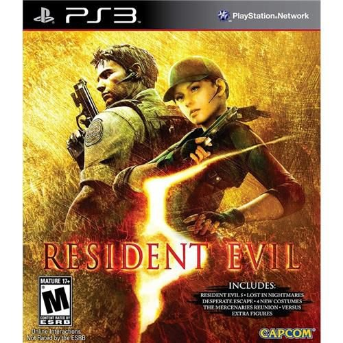 Jogo Resident Evil 5 Gold Edition - Ps3 Mídia Física Usado