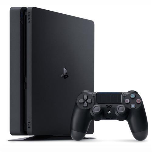 Sony Playstation 4 Slim 500GB Standard Jet Black Seminovo