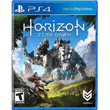 Jogo Horizon Zero Dawn - Ps4 Mídia Física Usado