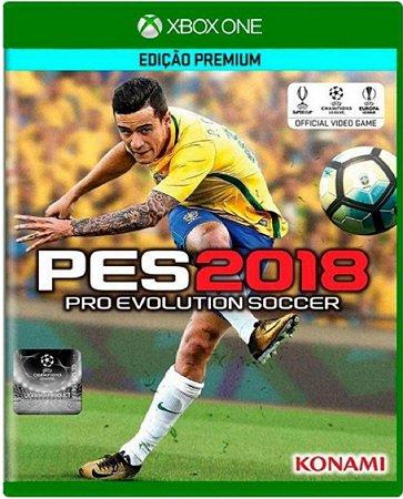 Jogo Pro Evolution Soccer 2018 - Xbox One Mídia Física Usado