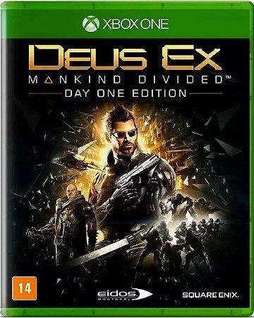 Jogo Deus Ex Manking Divided Edição Day One - Xbox One Mídia Física Usado