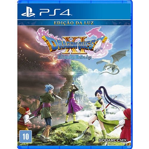 Jogos Dragon Quest XI Echoes Of An Elusive Age - PS4 Usado