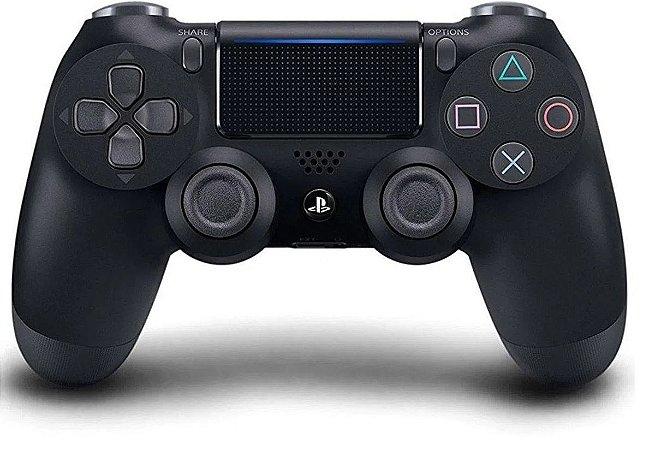 Controle Joystick Sony Dualshock 4 Jet Black