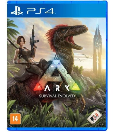 Jogo Ark Survival Evolved - PS4 Mídia Física Usado