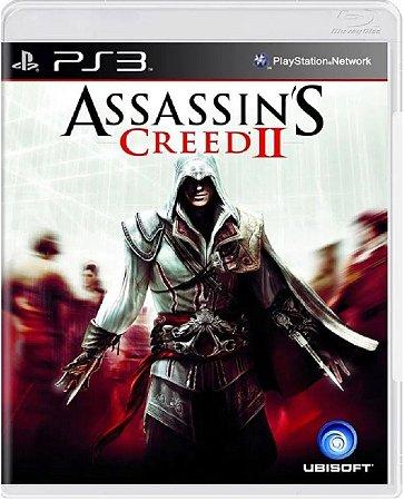 Jogo Assassin's Creed 2 - Ps3 Mídia Física Usado