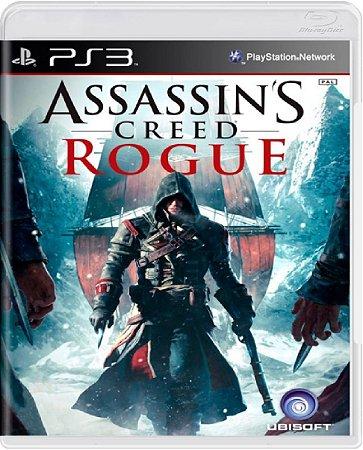 Jogo Assassin's Creed Rogue - Ps3 Mídia Física Usado