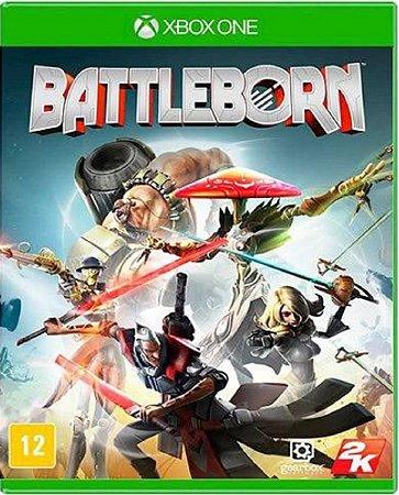 Jogo Battleborn - Xbox One Mídia Física Usado