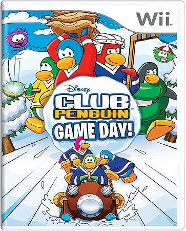 Jogo Club Penguim Game Day - Wii Mídia Física Usado
