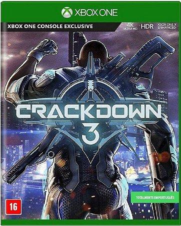 Jogo Crackdown 3 - Xbox One Mídia Física Usado