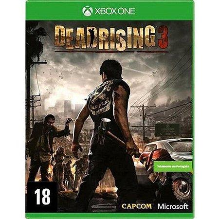 Jogo Dead Rising 3 - Xbox One Mídia Física Usado