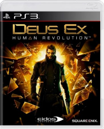 Jogo Deus Ex Human Revolution - Ps3 Mídia Física Usado