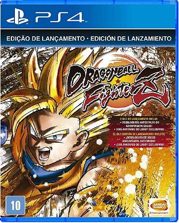 Jogo Dragon Ball Fighter Z - Ps4 Mídia Física Usado