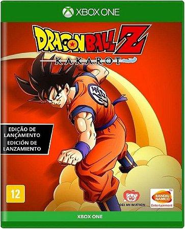 Jogo Dragon Ball Z Kakarot - Xbox One Mídia Física