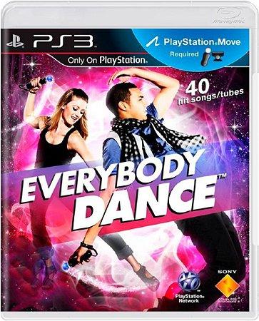Jogo Everybody Dance - Ps3 Mídia Física Usado