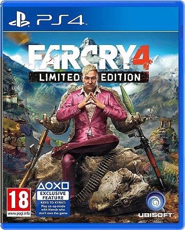 Jogo Farcry 4 Limited Edition - Ps4 Mídia Física Usado