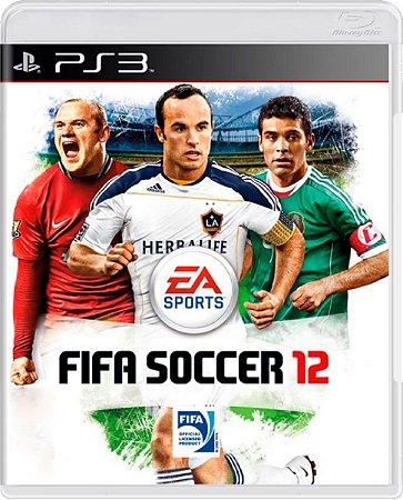Jogo Fifa 12 - Ps3 Mídia Física Usado