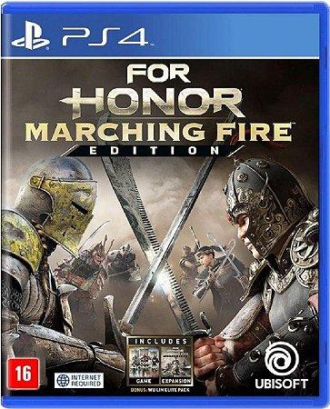 Jogo For Honor Marching Fire Edition -PS4 Mídia Física Usado